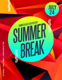 Summer Break Flyer