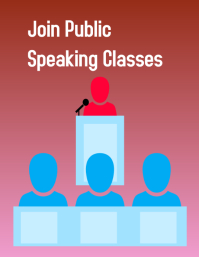 summer camp, back to school, public speaking Pamflet (VSA Brief) template