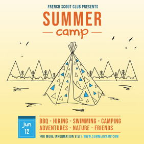 Summer Camp Advert