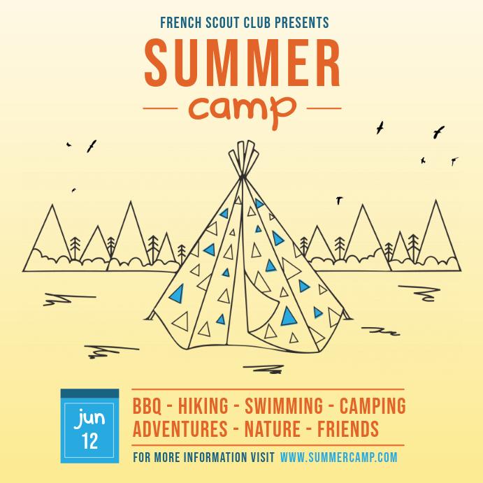 Summer Camp Advert
