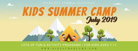 Summer Camp and Workshop for Kids Banner