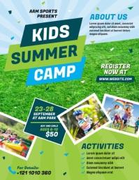 Summer Camp Flyer (US Letter) template