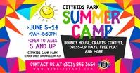Summer Camp Изображение, которым поделились на Facebook template