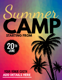 summer camp flyers,event flyers,Summer sale