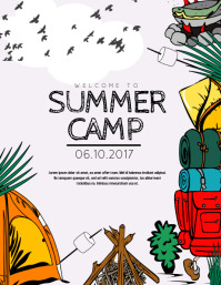 Customizable Design Templates For Camping Postermywall