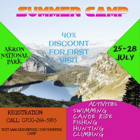 Summer Camp Template