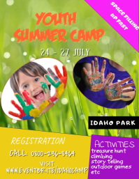 Summer Camp Template