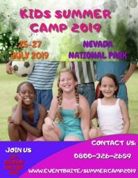 Summer Camp Video Template