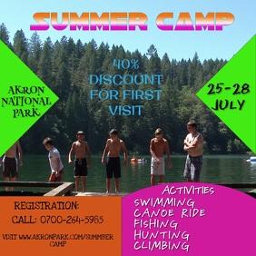 Summer Camp Video Template