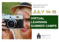 summer camp/virtual/STEM/college/online class Ikhadi leposi template
