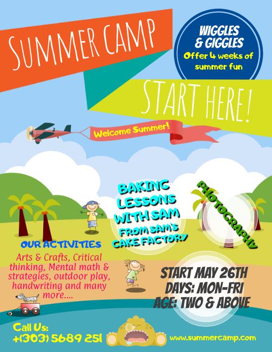 Summer Fun Flyer Barearsbackyard