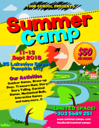Summer Camps Flyer