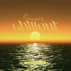 Summer Chillout - CD Cover Artwork Template Albumcover