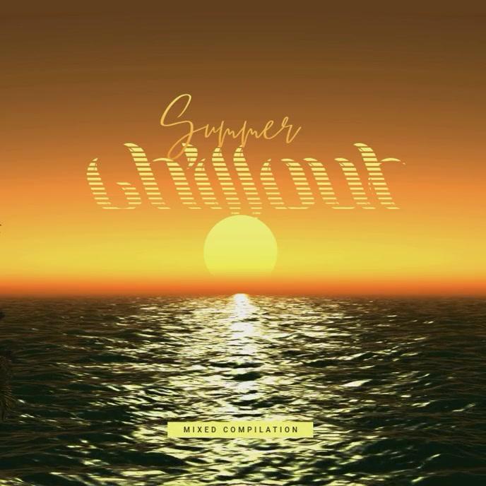 Summer Chillout - CD Cover Artwork Template Sampul Album
