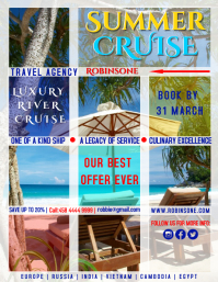 Summer Cruise Offer Poster