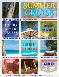 Summer Cruise Offer Poster