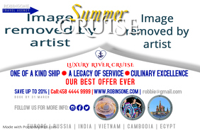 Summer Cruise Travelling Poster