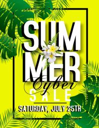 Summer Cyber Sale Template