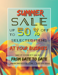 SUMMER DISCOUNT SALE AD