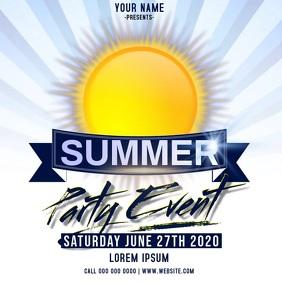 summer event ad instagram