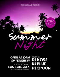 Summer Night Flyer