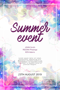 Summer Event Flyer Template