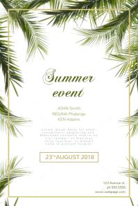 Summer Event Flyer Template for summer