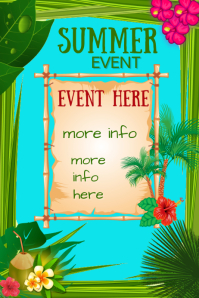 Summer Event Poster