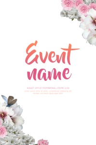 Summer Event Flyer Template