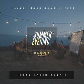SUMMER EVENT VIDEO TEMPLATE