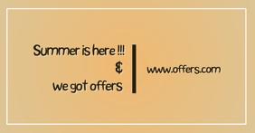 summer facebook share offers