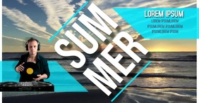 SUMMER FACEBOOK SHARE SHARED IMAGE TEMPLATE