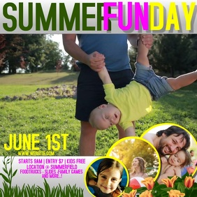 SUMMER FAMILY FUN DAY AD DIGITAL VIDEO