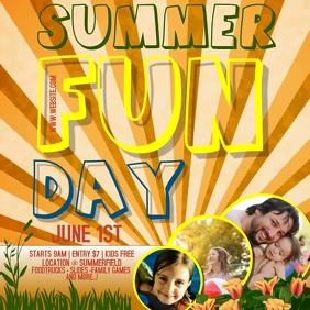 SUMMER FAMILY FUN DAY AD DIGITAL VIDEO