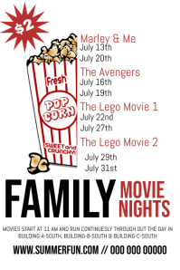 Summer Family Movie Nights