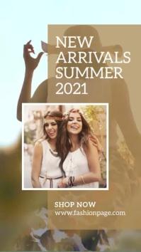 Summer Fashion Insta Story Template История на Instagram