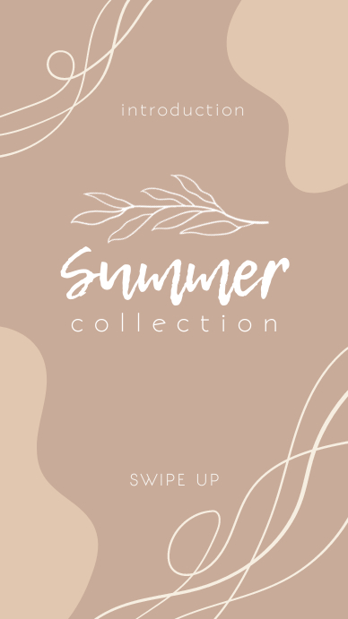 Summer Fashion Instagram story template