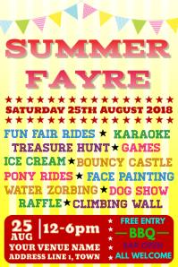 Summer Fayre Poster