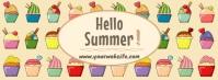 summer fbook Facebook-coverfoto template