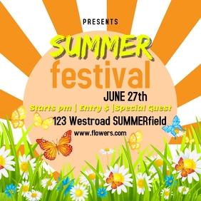 SUMMER fest festival template