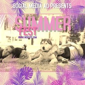 SUMMER FEST TEMPLATE DIGITAL