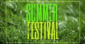 SUMMER FESTIVAL TEMPLATE FACEBOOK