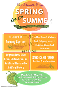 Summer Fitness Flyer