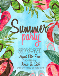 Customizable design templates for summer party postermywall summer saigontimesfo
