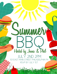 Summer Flyer (US Letter) template