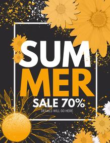 Summer flyers,retail flyers