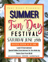 Summer fun day Flyer