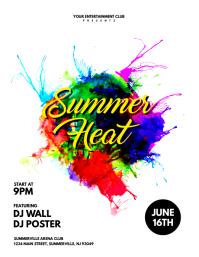 Summer Heat Flyer