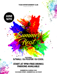 Summer Heat Flyer