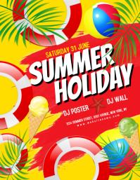Summer Holiday Flyer